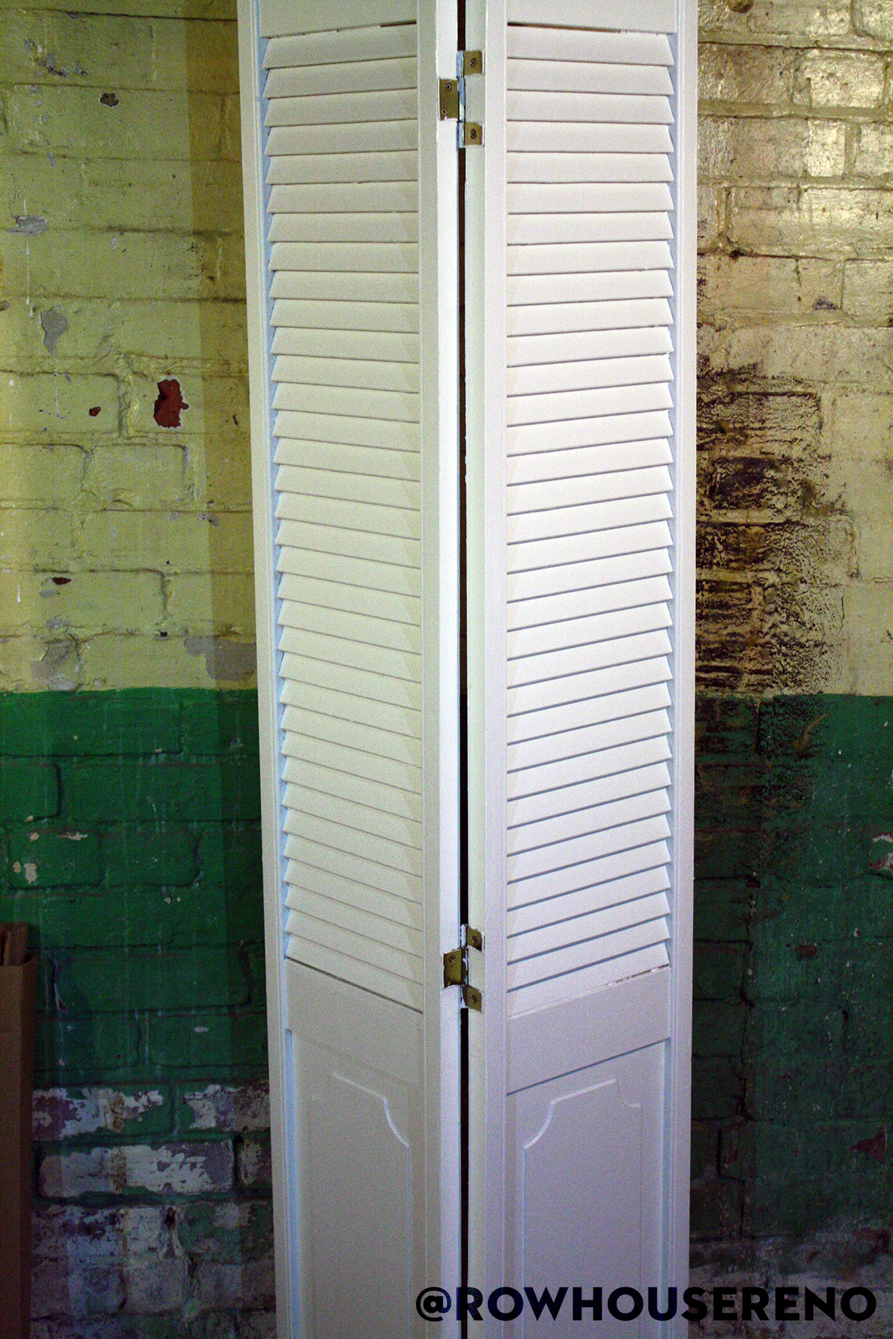 How To Fix And Refinish A Bifold Door Row House Reno